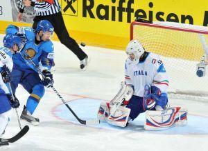 спорт, хоккей, италия, казахстан