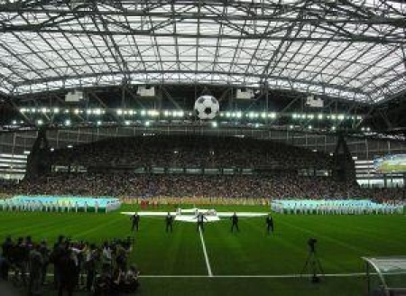 В Астане открыт стадион «Кажымукан»