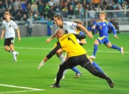 Казахстан — Германия 0:3. Лев сделал свое дело, Шторк может уходить