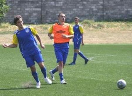 Сборная Казахстана по футболу проводит тренировочный сбор в Талгаре