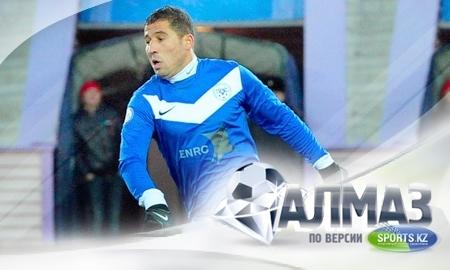 Улугбек Бакаев — лучший футболист чемпионата Казахстана 2012 года