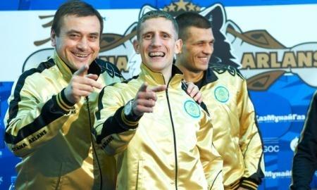 Фоторепортаж с церемонии взвешивания матчевой встречи WSB «Astana Arlans» VS «Dolce&Gabbana Italia Thunder»