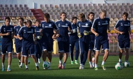 Белорусы довольны карагандинским стадионом