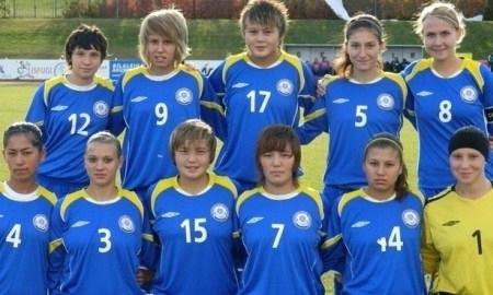 Казахстанские девушки пропустили десять безответных мячей от сборной Дании