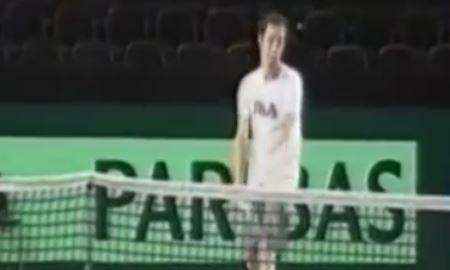 Сборная Казахстана по теннису готовится к матчам против Швейцарии
