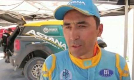 Казахстанский гонщик обошел сильнейших пилотов мира на Abu Dhabi Desert Challenge