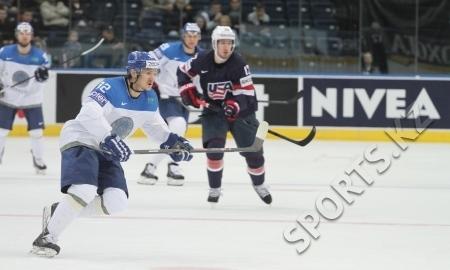 <strong>Казахстанские хоккеисты не справились с США</strong>