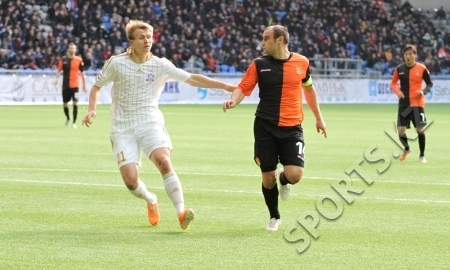 <strong>«Актобе» забил четыре безответных гола «Шахтеру»</strong>