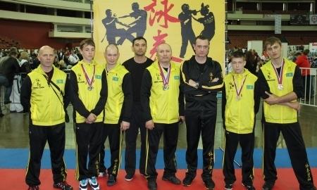 Казахстанские мастера восточного единоборства Вин Чун