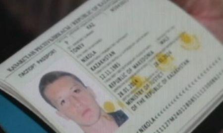 The fake passport of Tonev; photo: sports.kz