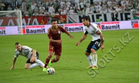 Статистика матча Лиги Европы «Легия» — «Актобе» 2:0