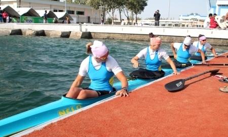 <strong>Казахстанская женская байдарочная четверка выиграла бронзовые медали Азиады на 500 метрах</strong>