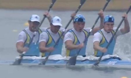 <strong>Мужская байдарка-четверка завоевала двенадцатое казахстанское «золото» Азиады</strong>