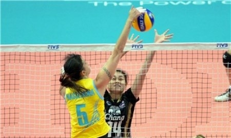 Казахстанские волейболистки переиграли Тайланд на чемпионате Мира