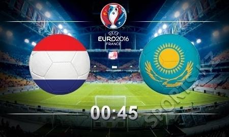 Стал известен стартовый состав сборной Казахстана на матч с Голландией