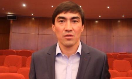 Самат Смаков поздравил казахстанцев с Новым годом