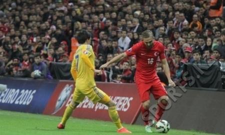 Статистика матча отборочного турнира ЕВРО-2016 Казахстан — Турция 0:1