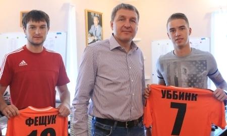 «Шахтер» подписал Уббинка и Фещука