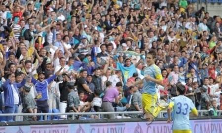 Матч «Астана» — «Марибор» — в тройке самых посещаемых
