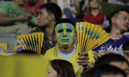 Матч «Астана» — АПОЭЛ установил рекорд посещаемости