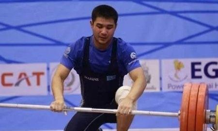 В копилке сборной Казахстана по тяжелой атлетике еще одно «золото»