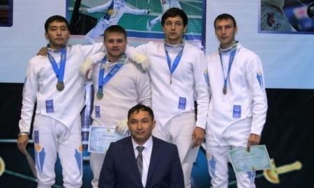 Сборная ВКО — чемпион РК в командном фехтовании на шпагах