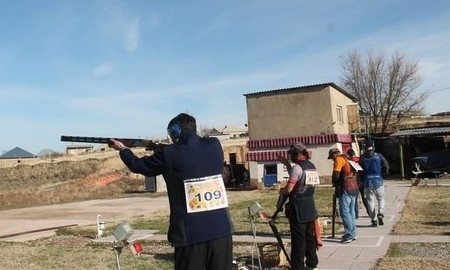 XXIV турнир по стендовой стрельбе проходит в Шымкенте