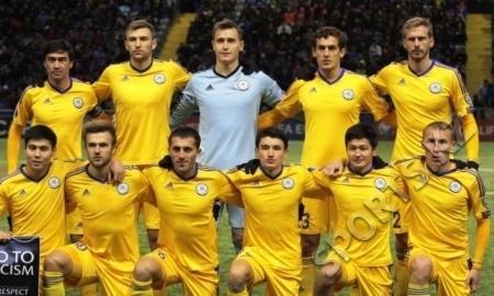 Казахстан поднялся на две строчки в рейтинге FIFA