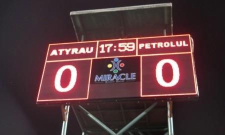 «Атырау» и «Петролул» голов не забили