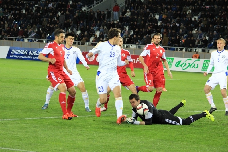 Казахстан грузия футбол прогноз