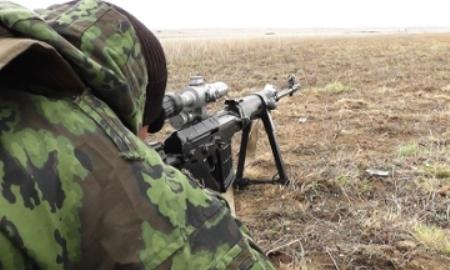 В казахстанской армии отобрали лучших снайперов