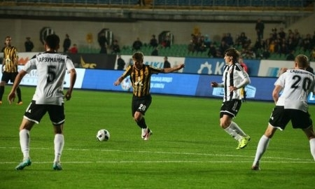 Отчет о матче Премьер-Лиги «Кайрат» — «Шахтер» 0:0