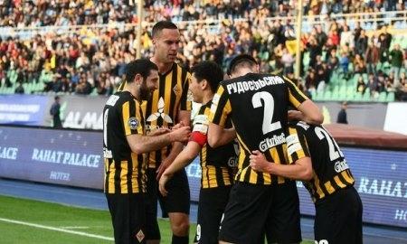 Отчет о матче Премьер-Лиги «Кайрат» — «Актобе» 3:0