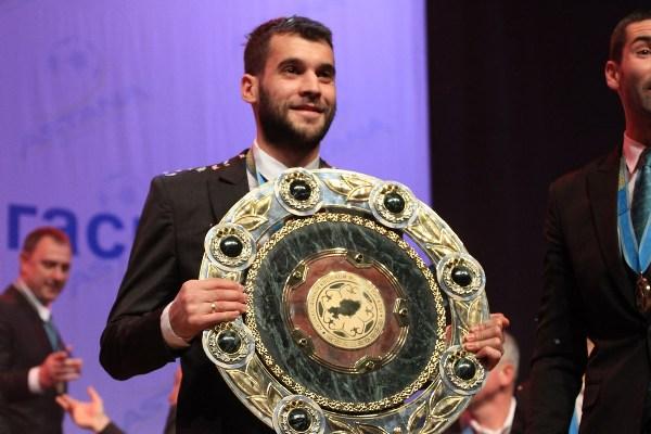 Марин вместе с «Астаной» стал чемпионом Казахстана