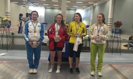 Южноказахстанская рапиристка единственная в стране привезла медаль с международного турнира в Дании