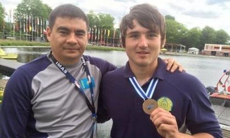 Гребец-каноист Сергей Емельянов завоевал «бронзу» на Кубке мира в Германии
