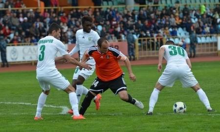 Отчет о матче Премьер-Лиги «Шахтер» — «Атырау» 0:0