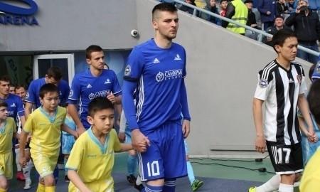 Отчет о матче Премьер-Лиги «Окжетпес» — «Астана» 0:1