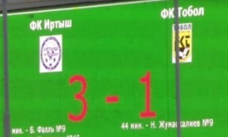Отчет о матче Премьер-Лиги «Иртыш» — «Тобол» 3:1