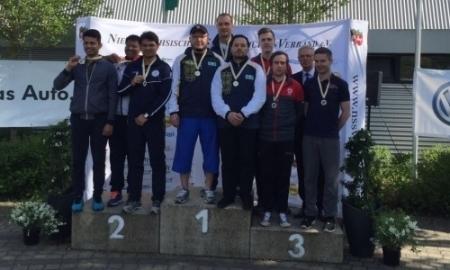 Сборная Казахстана по пулевой стрельбе завоевала второе «золото» в Ганновере
