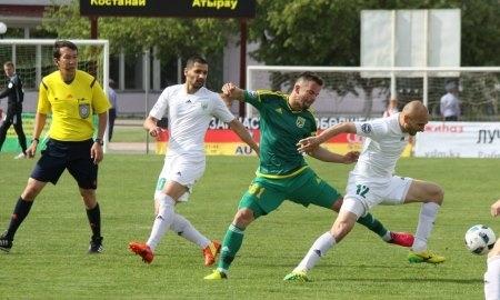 Отчет о матче Премьер-Лиги «Тобол» — «Атырау» 1:2