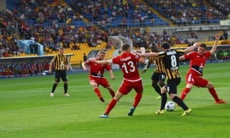 Отчет о матче Премьер-Лиги «Кайрат» — «Акжайык» 3:2