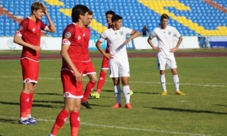 Отчет о матче Премьер-Лиги «Жетысу» — «Актобе» 1:1