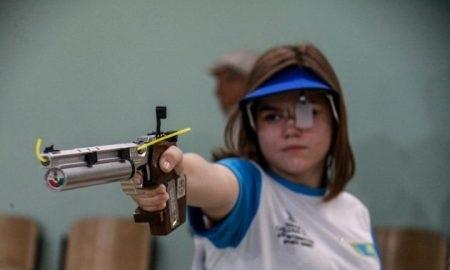 Казахстанский стрелок выиграл «золото» игр «Дети Азии»