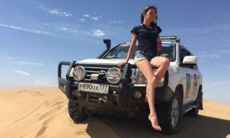 Телеведущая из России, посетившая ралли «Шелковый путь-2016», сравнила Астану с ОАЭ
