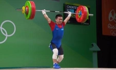 Тяжелоатлет Чонтей остановился в шаге от медали Олимпиады-2016