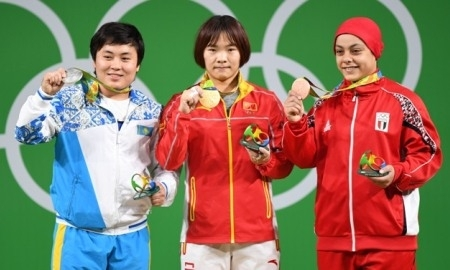 <strong>Тяжелоатлетка Жаппаркуль принесла Казахстану пятую медаль Олимпиады-2016</strong>