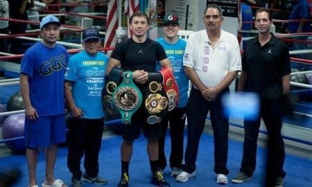 Головкин призвал четверых боксеров подписать контракт на бой с ним