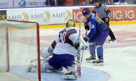 <strong>Казахстанские хоккеисты победили Норвегию в отборе на Олимпиаду-2018</strong>