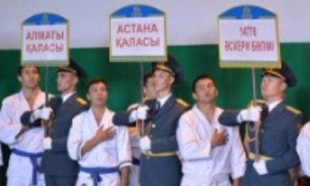 В Астане состоялся турнир по рукопашному бою на Кубок Главнокомандующего Нацгвардией РК
